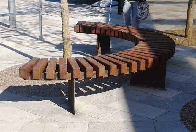 Blueton Limited The New Name In Street Furniture Ref 086 02mst Mild Steel Amp Fsc Hardwood