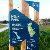 New Orientation Boards for Helix Park