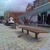 Gloucester Dockland seating....